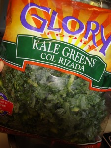 bag of kale