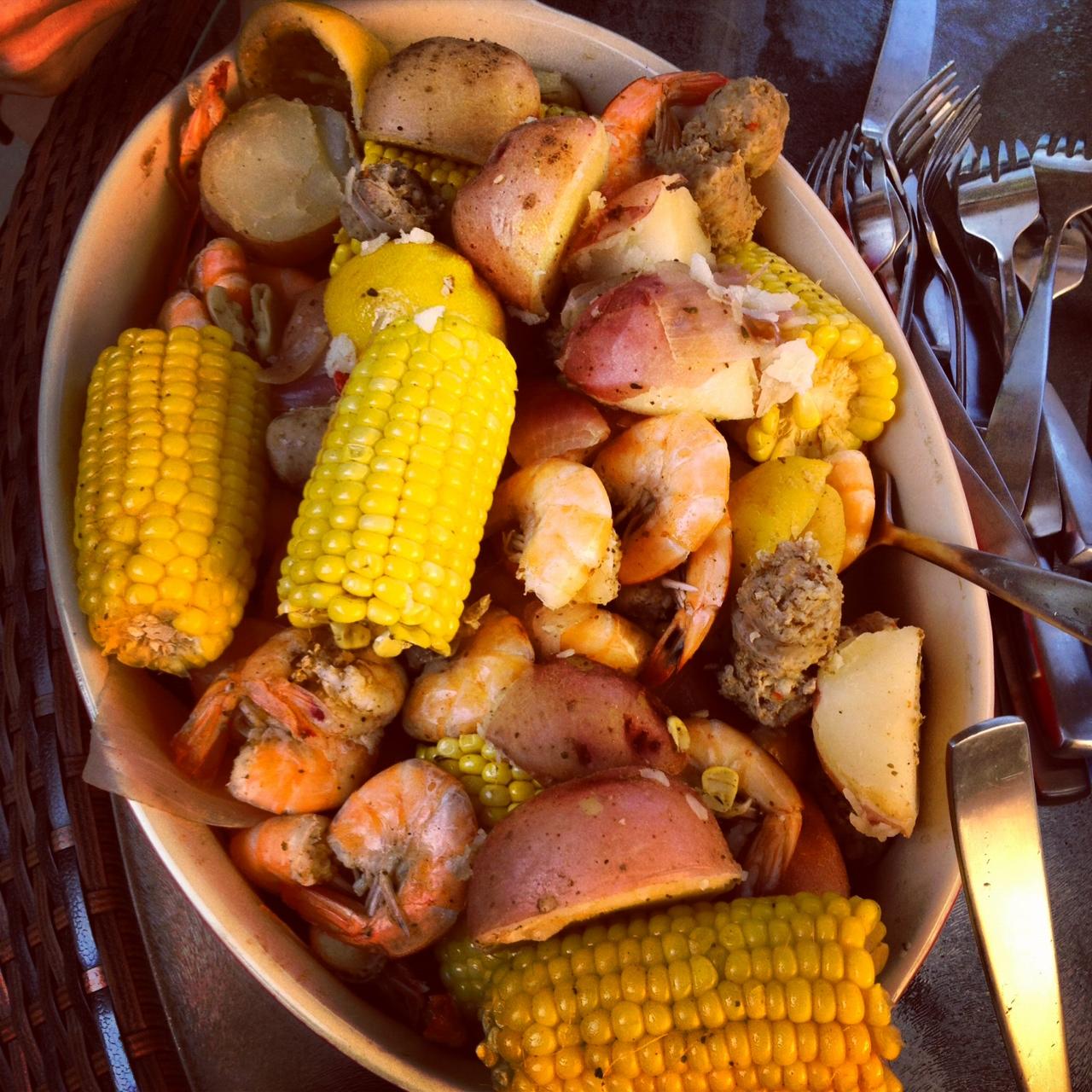 shrimp boil food